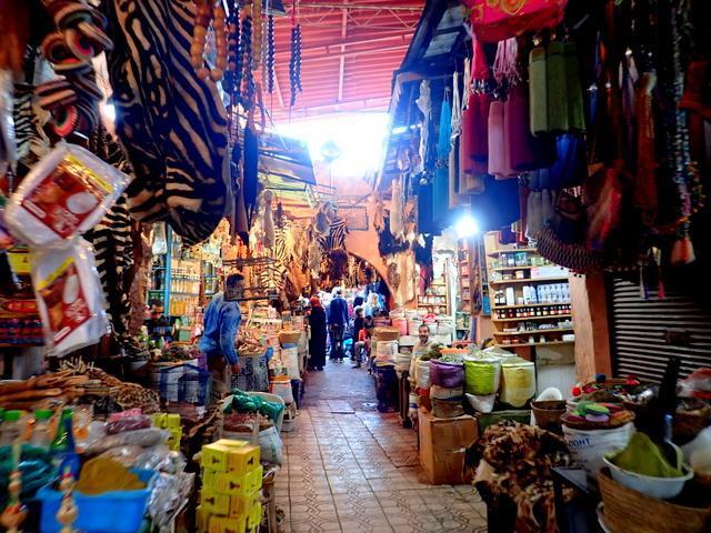 モロッコ マラケシュ スーク