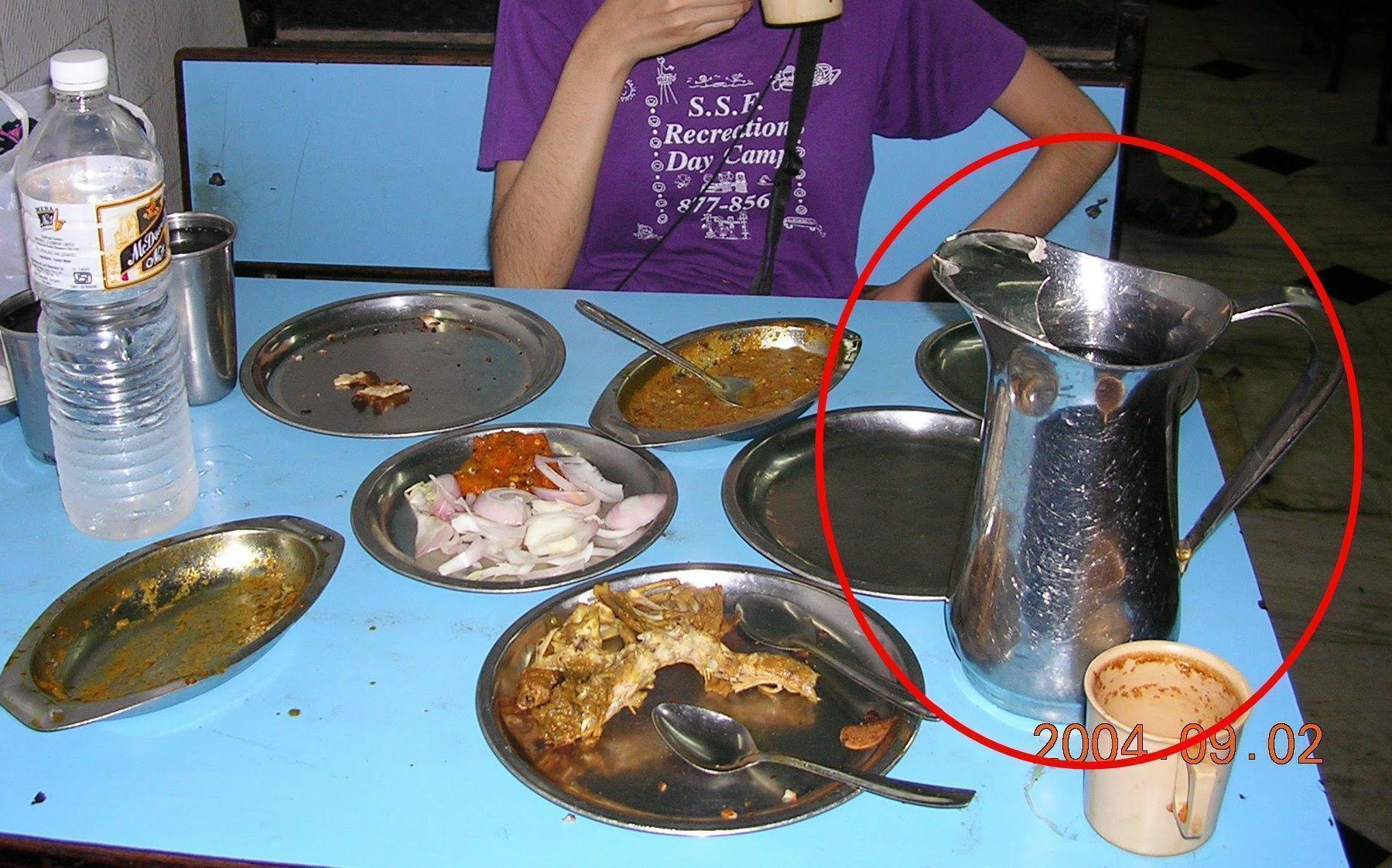 インド レストラン 水